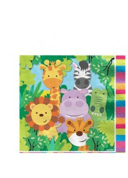Animal Friends Napkins (20 Pack)