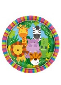 Animal Friends Party Plates