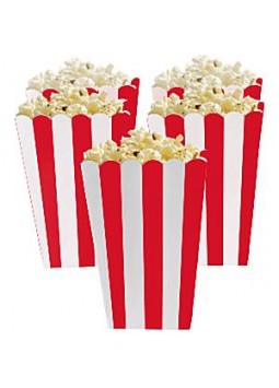 Red Candy Buffet Popcorn Boxes (5)