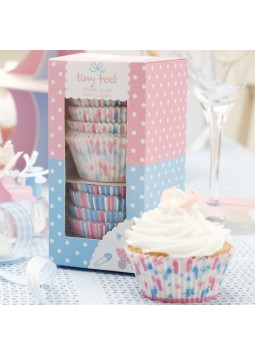 Tiny Feet Cupcake Cases (Pack of 100)