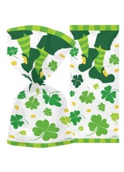 Cello Bags - St Patrick's Day Decorations (Pack of 20)