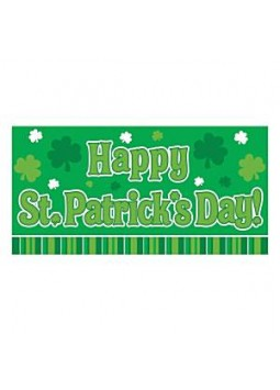 Giant Banner - 3.65m St Patrick's Day Decoration