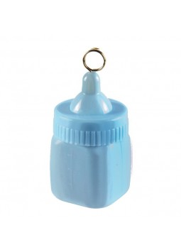Baby Bottle Blue Balloon Weight
