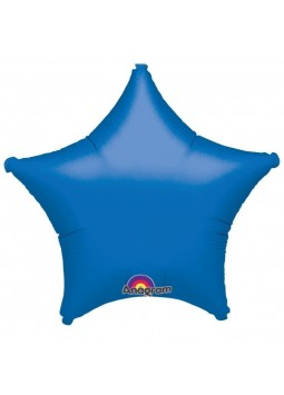 Blue Star Balloon - 19'' Foil