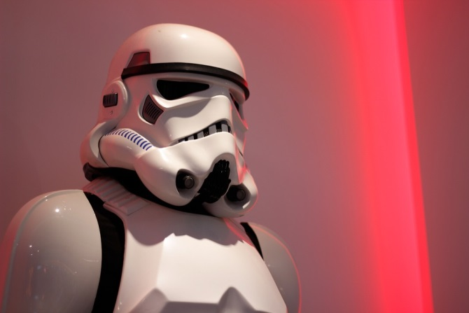 Description: Stormtrooper, Star Wars, Red, The Game